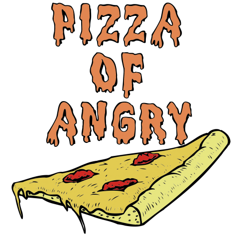 Pizza of angry