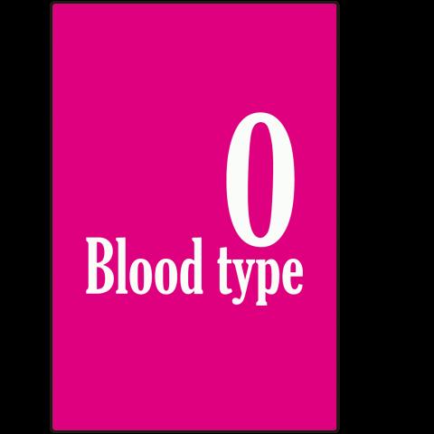Blood type 血液型