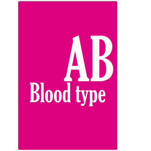 Blood type 血液型