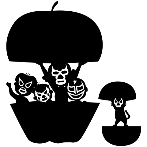 【パロディー商品】Familia de luchadores2