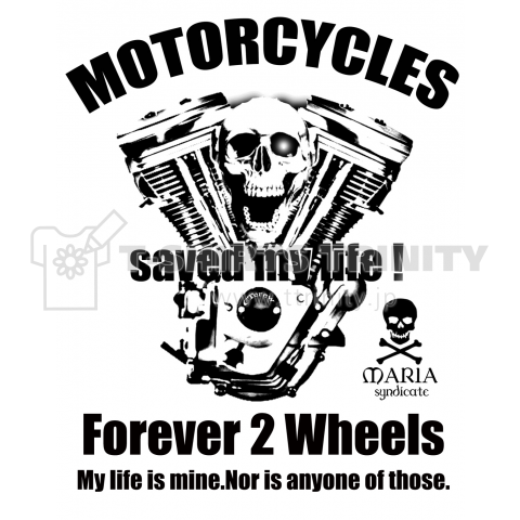 MOTORCYCLE SAVED MY LIFE.