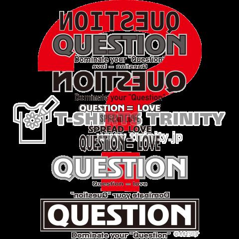 ひみつきちのTシャツ「Q ver2」