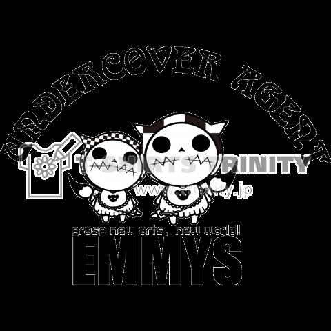 ひみつきちのTシャツ「EMMYS-01」