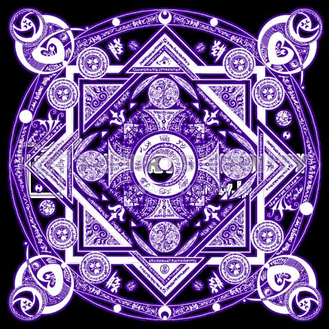 魔法陣紫|デザインTシャツ通販【...