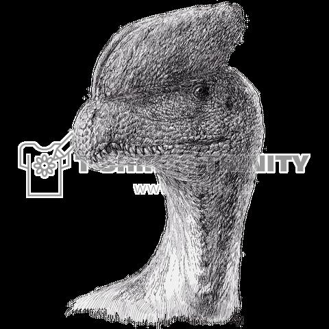 Dilophosaurus(ペン画)