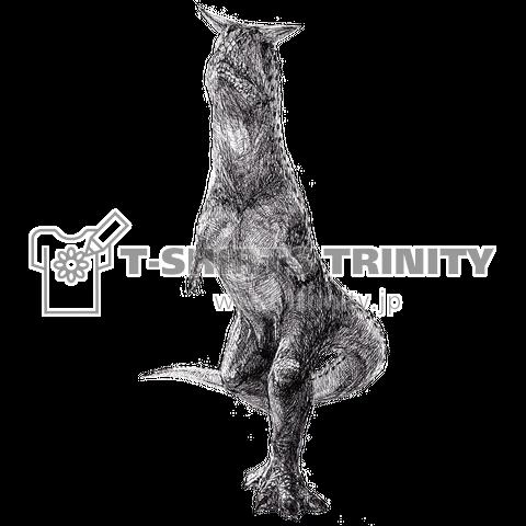 Carnotaurus(ペン画)