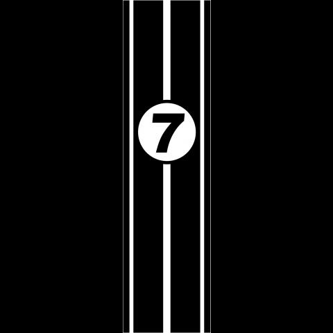 racing number7