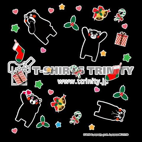 くまモンのTシャツ(クリスマス04)
