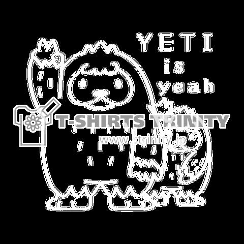 カスタマイズOK >CT94 YETI is yeah*Cホワイトインク