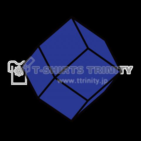 鉱式-SQUAREcrystallogram3.2blackpaint-lapis