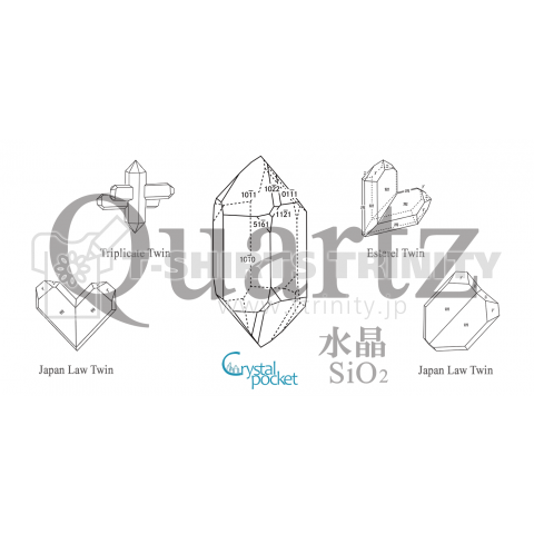 鉱式-RECTANGLE.crystallogram3.2whiteback-Quartz_twin_variety