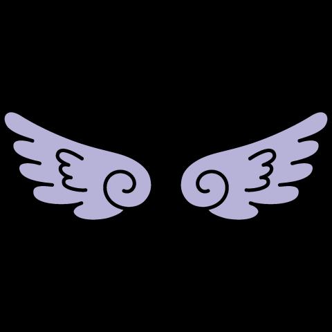 天使の羽根(ブルー翼)