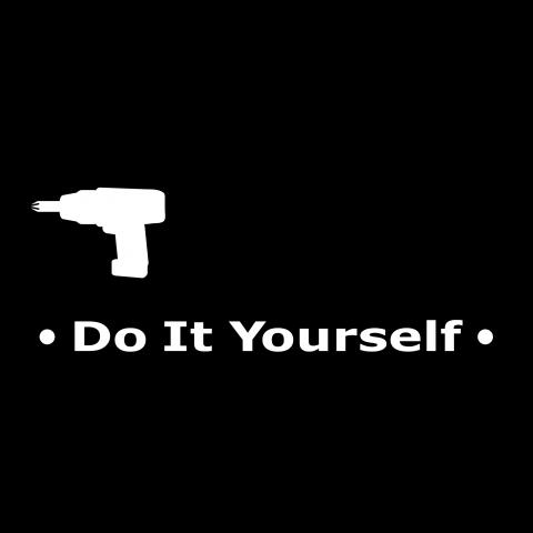 diy ディー アイ ワイ 電動ドライバー イラスト do it yourself ドゥ