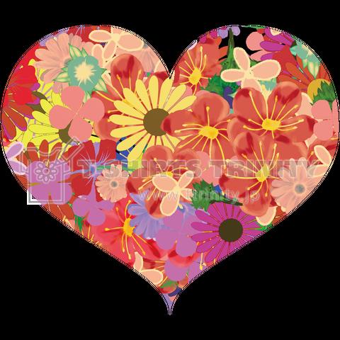 花のハートキュート
