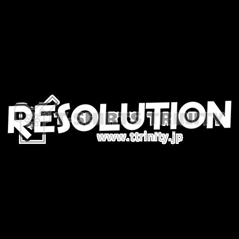RESOLUTION シンプルロゴ