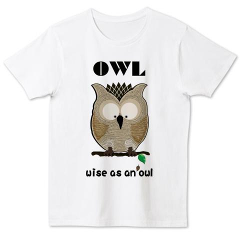 OWL 4.6oz Fine Fit Tshirts (DALUC)