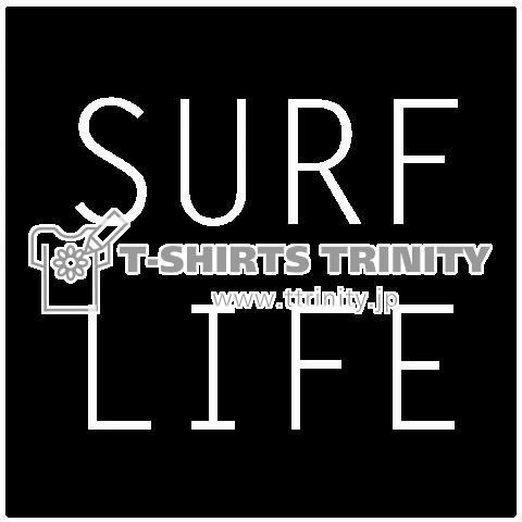SURF LIFEメッセージTシャツ(ホワイトバージョン)