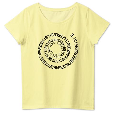 円周率 4.6oz Fine Fit Ladies Tshirts(DALUC)