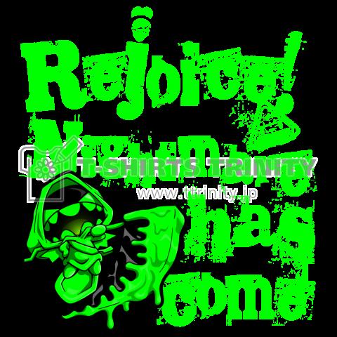 NIGHMARE HAS COME! Tシャツ -グリーン-