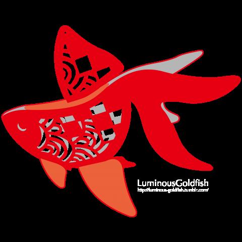 Luminous Goldfish / Rika.ver