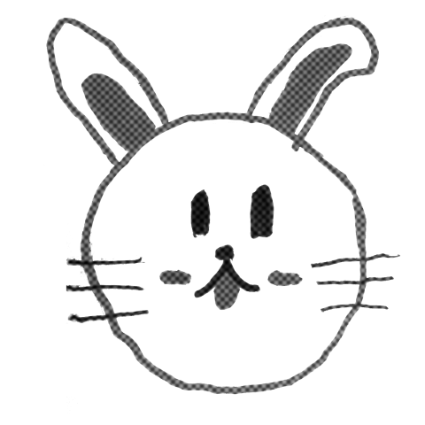 rabbit(monotone)
