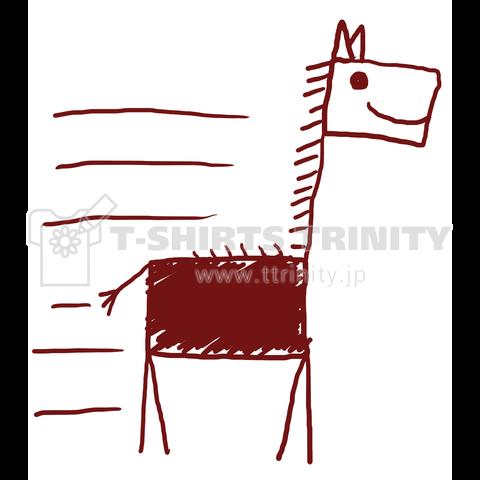 馬?キリン?ヘタウマ?キッズアート。