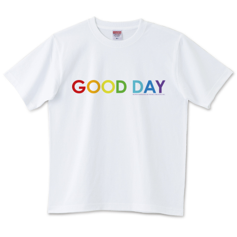GOOD DAY 004 6.2オンスTシャツ(United Athle)