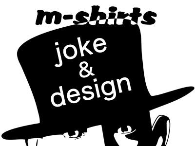 ジョーク&デザインm-shirts