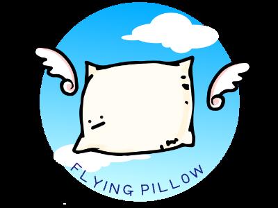 空飛ぶ枕カバー