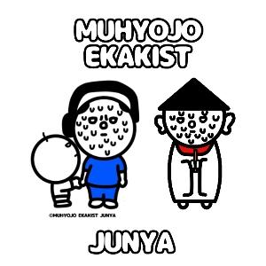 世界一無表情な絵を描く「無表情絵描きスト・Junyaの部屋」