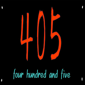 405 four hundred and five