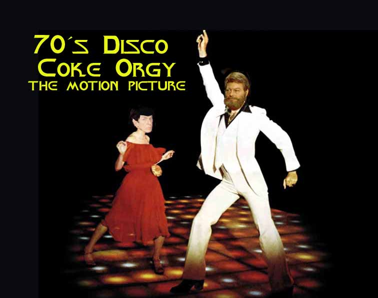 70's Disco Coke Orgy THE MOTION PICTURE