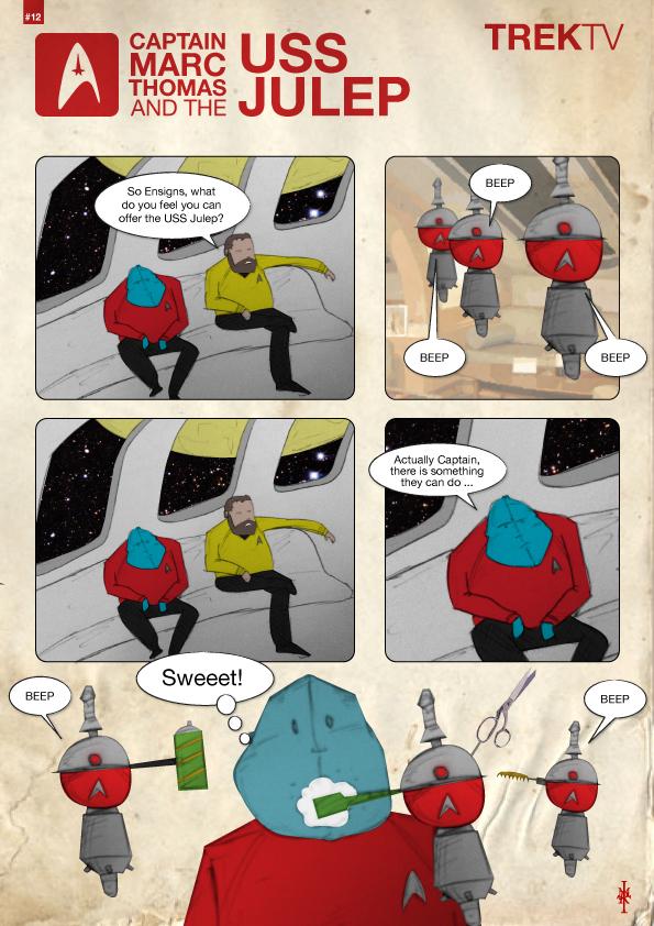 Julep cartoon #12