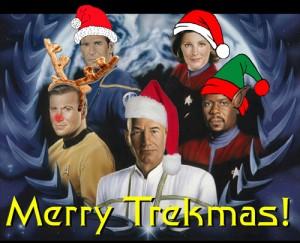 Star trek Christmas card