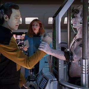 "Trek TV Episode 170 - Star Trek: The Next Generation S04E01 - ""The Best of Both Worlds, Part 2"""