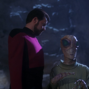 "Trek TV Episode 177 - Star Trek: The Next Generation S04E08 - ""Future Imperfect"""