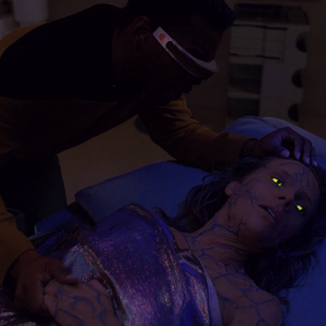 "Trek TV Episode 187 - Star Trek: The Next Generation S04E18 - ""Identity Crisis"""