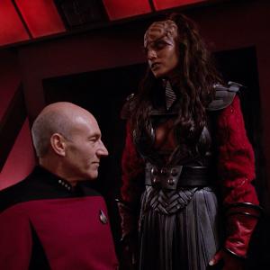 "Trek TV Episode 195 - Star Trek: The Next Generation S04E26 - ""Redemption: Part 1"""