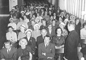 Ensimmäinen kehitysvammaisten päivä järjestettiin 1962. Tapahtumassa esitettiin englantilainen elokuva lapsen kehittymisestä.