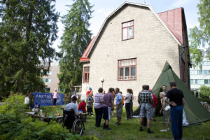 Riihimäen tukiyhdistys vietti mukavan nuotioillan yhdessä partiolaisten kanssa.