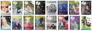 Tukiliiton lehtiä: Tukiviesti, Leija ja Liikkeelle.