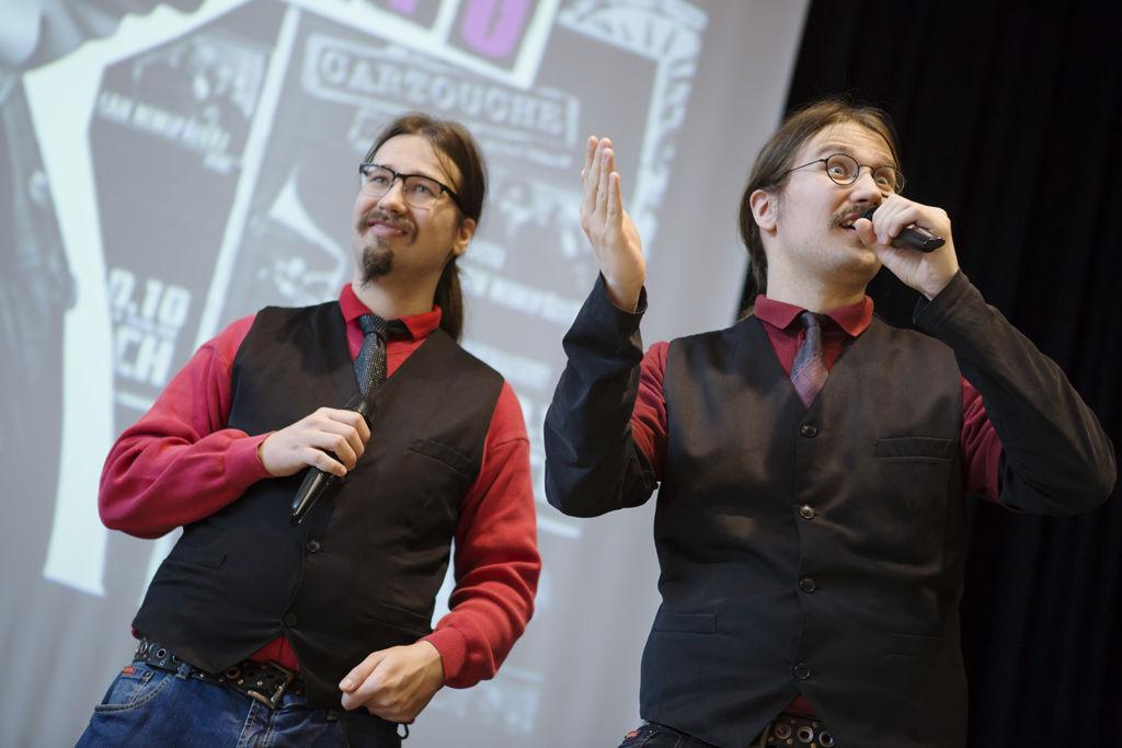 Joonas ja Niklas Nyholm.