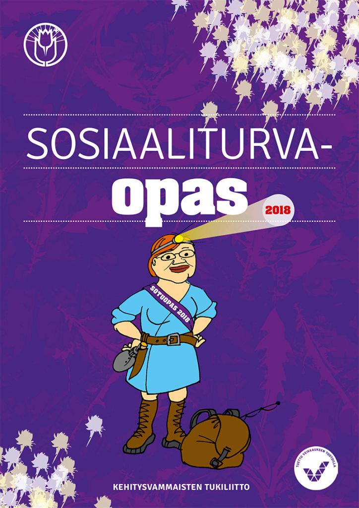 Sosiaaliturvaopas 2018 - kansi