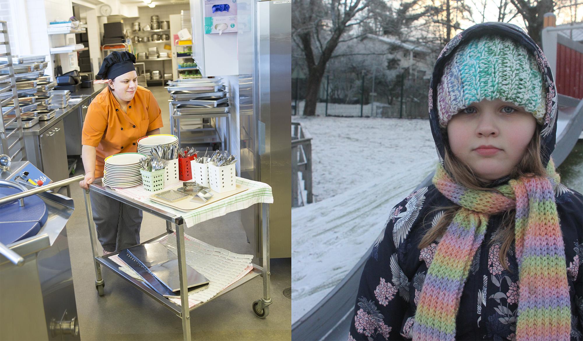 Tanja Korhonen ja Aino Pekkanen