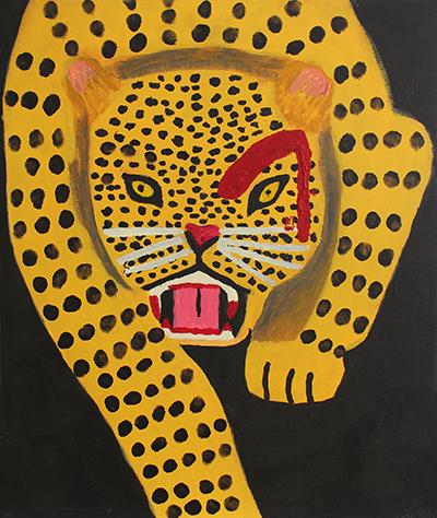 Aleksiina Salmi: Leopardin katse.