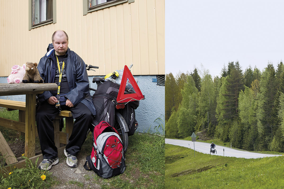 Petri Virolainen kertoo ihmisille, miten tärkeää on ystävyys.