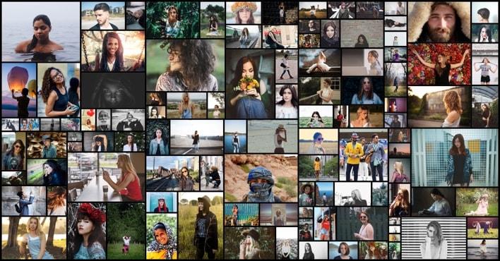 Sample Mosaic Collage