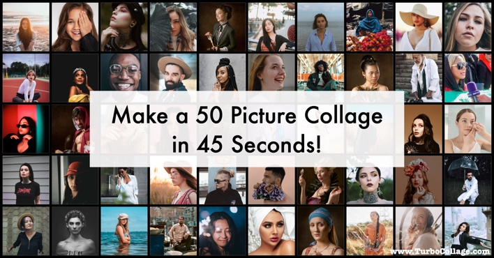 Make 50 or More Picture Collage