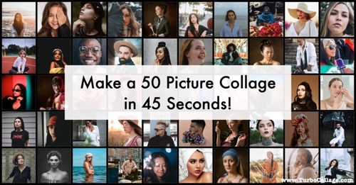 Make a 50 Photo Collage