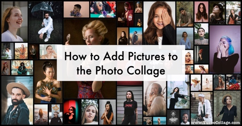 Add Pictures to Collage